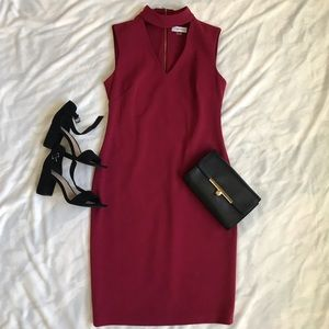 LIKE NEW Calvin Klein Choker Dress